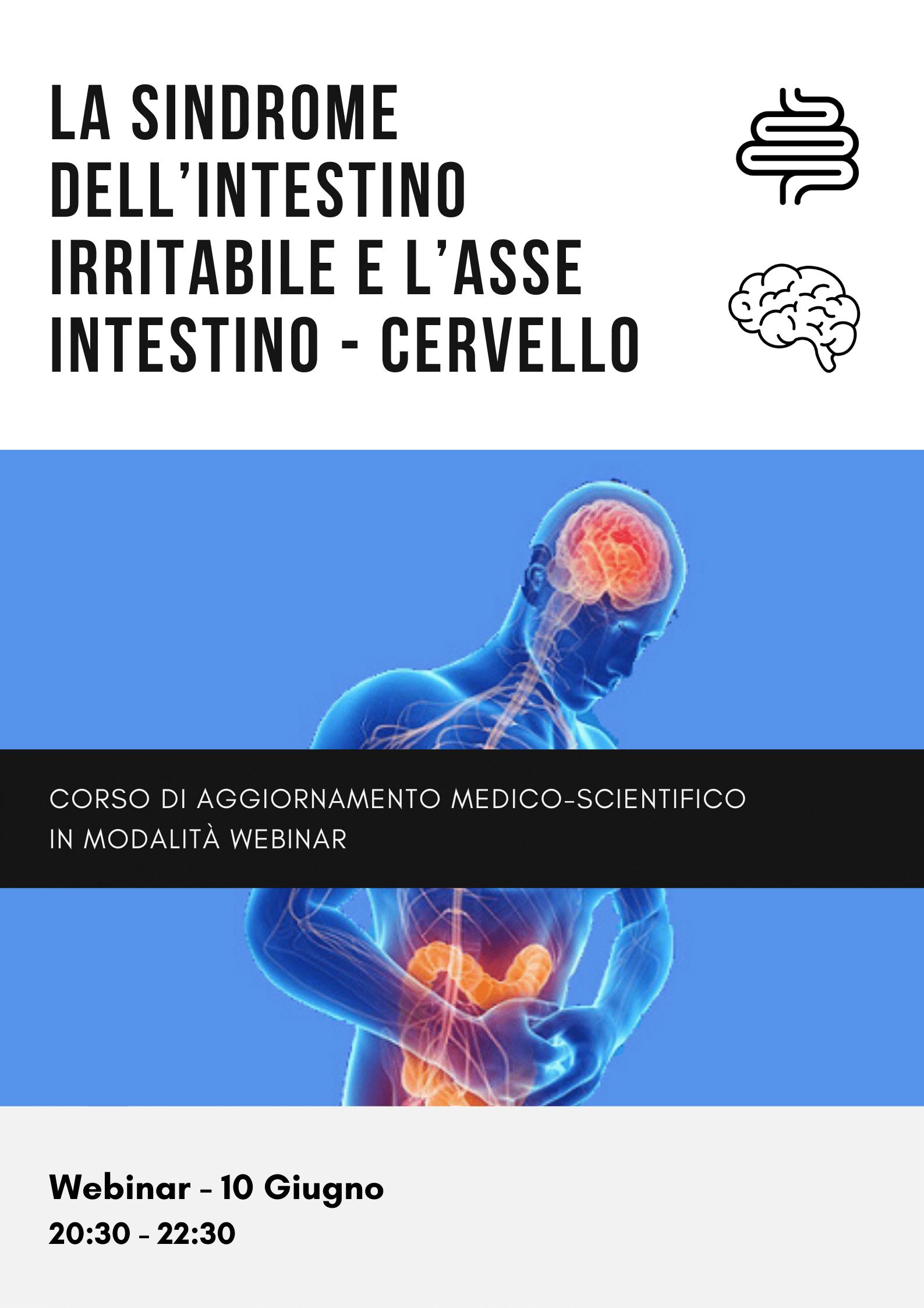 La Sindrome dell'intestino irritabile e l'asse Intestino - Cervello