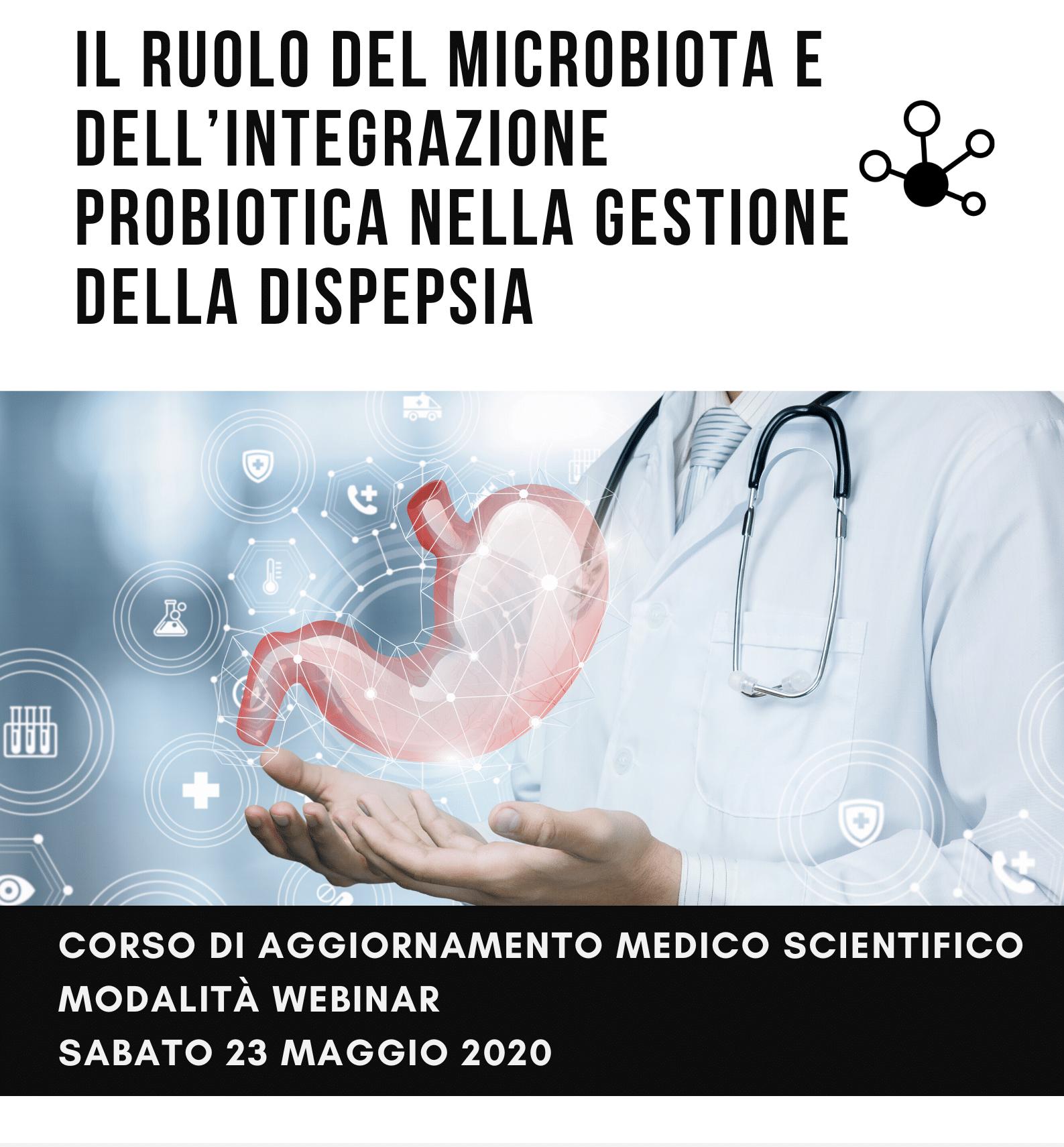 Il ruolo del microbiota e dell'integrazione probiotica nella gestione della dispepsia 2