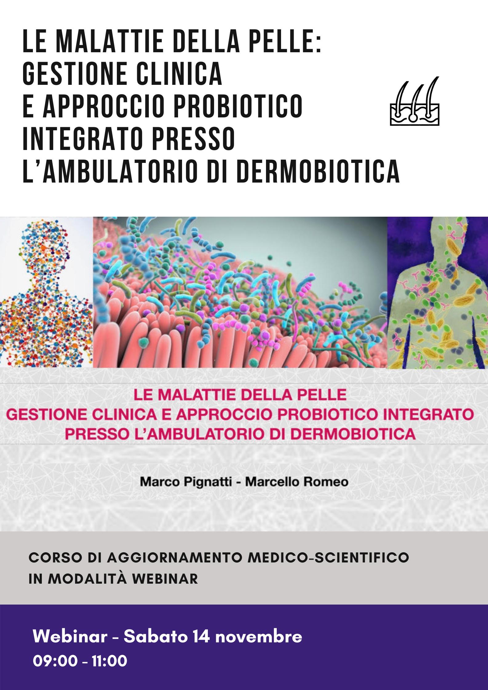 Le malattie della pelle: gestione clinica e approccio probiotico integrato presso l'ambulatorio di dermobiotica 2