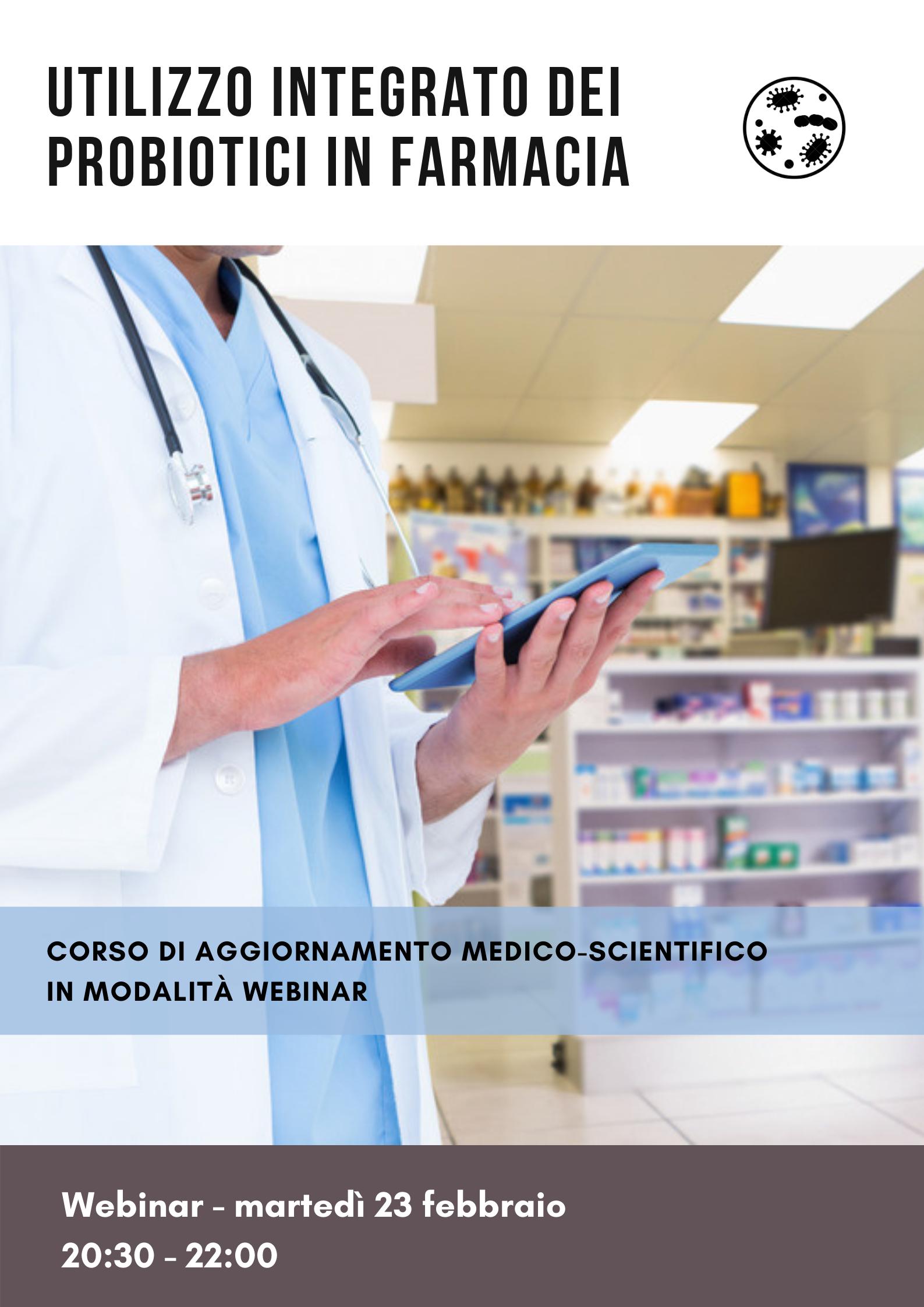 Utilizzo integrato dei probiotici in farmacia 2