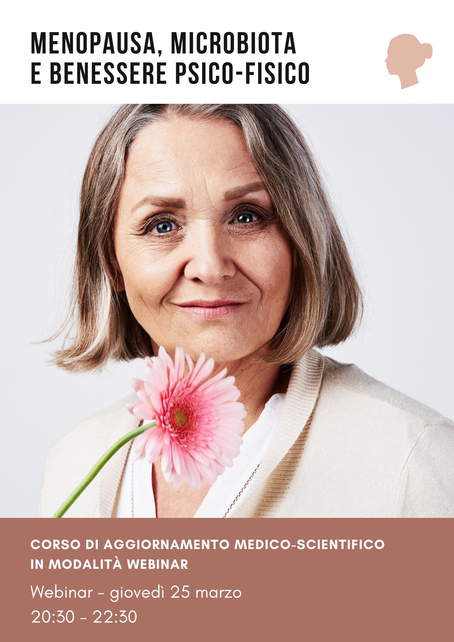 Menopausa, microbiota e benessere psico-fisico