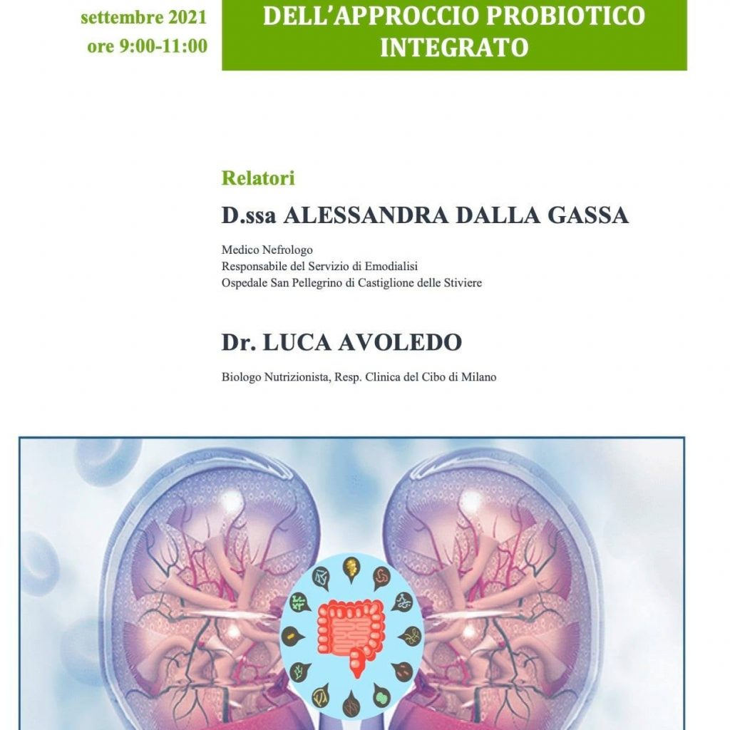 Malattia renale cronica e asse Microbiota-intestino-rene: il ruolo della dieta e dell'approccio probiotico integrato 2